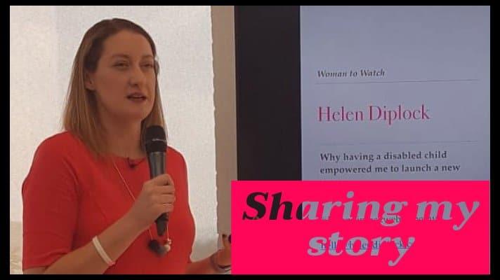 Helen Diplock Sharing my Story web design